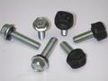 Polypropylene-Encapsulated Silo Assembly Bolts and High Strength Rust Resistant Coated Bolts