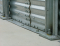Brock's unique FULL SWEEP™ Silo Anchoring System (patent pending) allows for the safe operation of single-pass sweeps in all Brock EVEREST Grain Storage Silos.