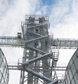 Brock's Bucket Elevator Support Towers