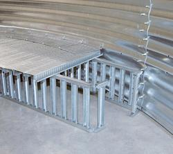 TRI-CORR® Silo Aeration Flooring System and PARTHENON® Support System