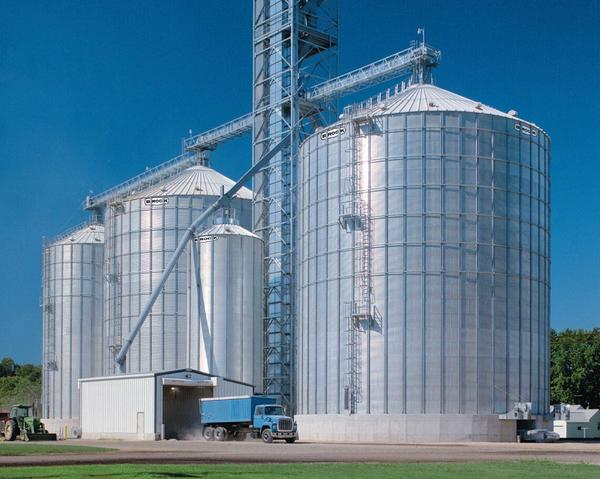 Chore-Time® Brock® International|Brock|Products|Stiffened Grain Silo
