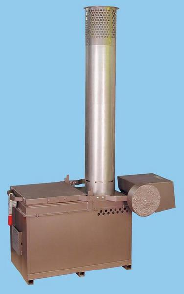 侨太焚化炉的特点 不锈钢的烟囱帽含用能够延长设备